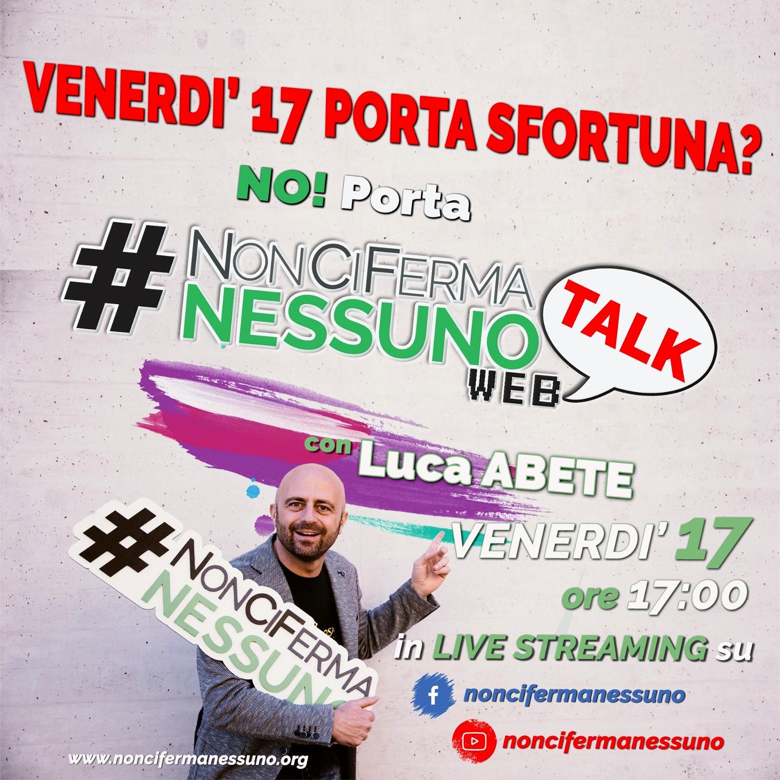 Non ci ferma nessuno web talk-2