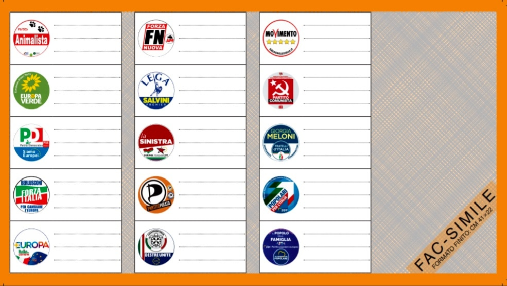 elezioni europee fac simile scheda-2