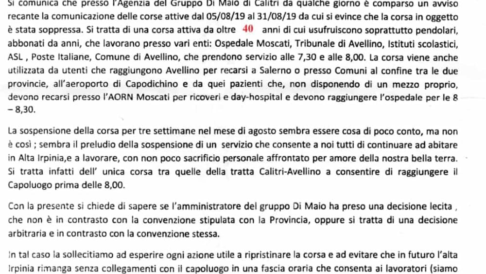 lettera cgil bus alta irpinia-2