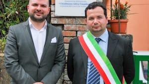 Rocco e Pelosi 2 Inagurazione piazza -Cittadinanaza Attiva Umanitaria--2