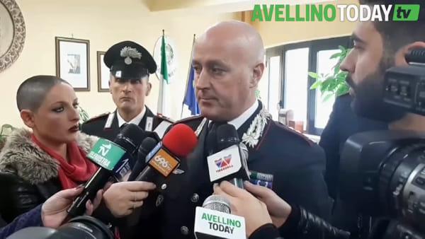 Calendario Carabinieri 2020, la presentazione ad Avellino