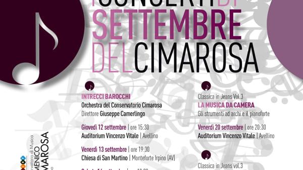 Settembre nel segno della musica, al via i Concerti del Cimarosa