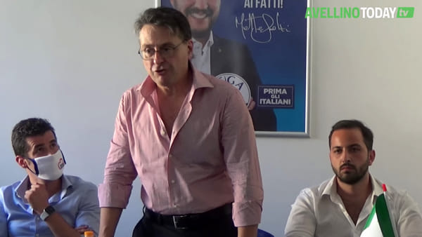 """Il vice di Salvini ad Avellino: """"De Luca fa comunicazione da reality show"""""""