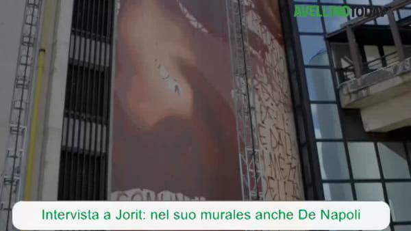 """Universiadi, intervista a Jorit: nel suo murales ci sarà anche """"Rambo"""" De Napoli"""
