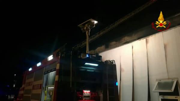 Incendio Pianodardine, i Vigili del Fuoco sono ancora al lavoro