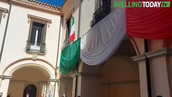 Festa della Repubblica ad Avellino, il video delle celebrazioni
