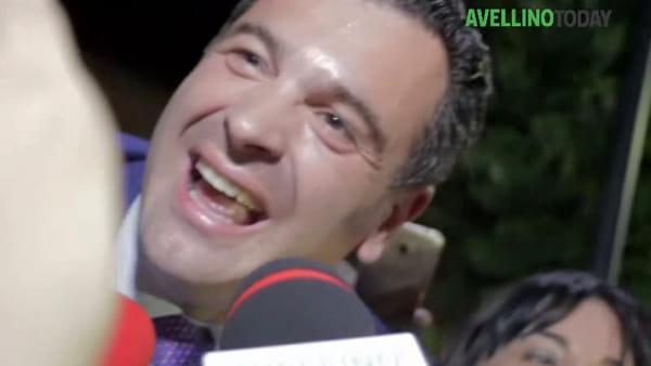 """Festa conquista Avellino: """"Subito a lavoro, amo Avellino e sarò il sindaco di tutti"""""""