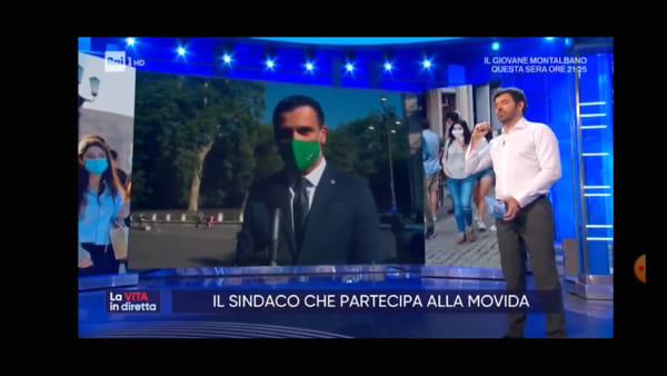 """Il sindaco Festa a """"La vita in Diretta"""": """"Non sono un sindaco che volta le spalle"""""""