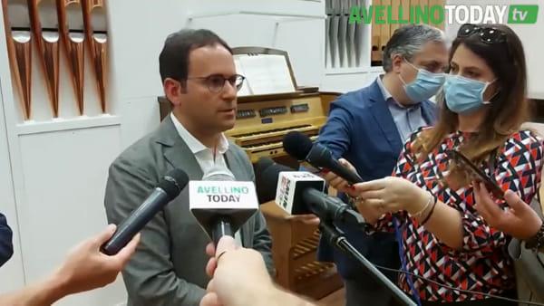 """Conservatorio Cimarosa, inaugurato lo storico organo """"Tamburini"""""""