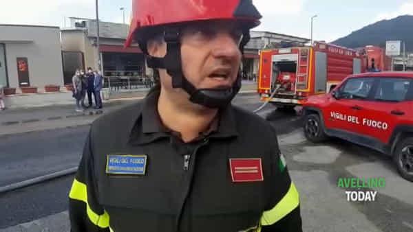 Incendio Pianodardine: i Vigili del Fuoco fanno il punto della situazione