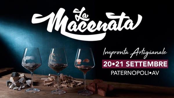 """Il passato prende forma, l'antico rito della pigiatura per """"La Macenata"""" di Paternopoli"""