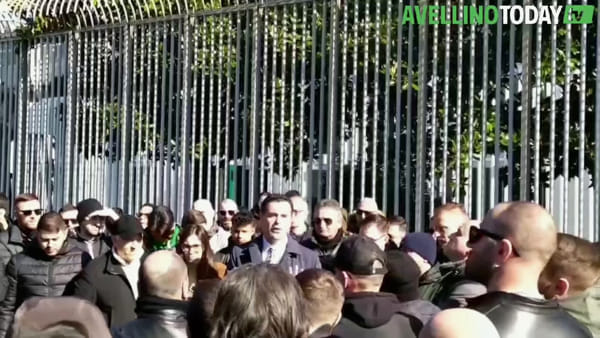Us Avellino, il video dell'incontro tra Festa e la Curva Sud