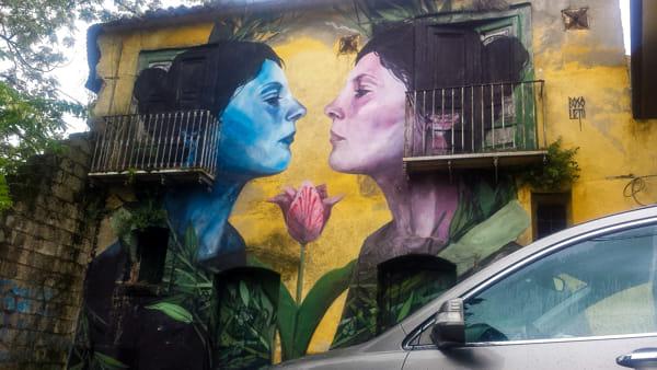 Irpinia da scoprire, viaggio a Bonito il paese dai Murales più belli al mondo