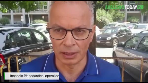 """Incendio Pianodardine, operai ICS chiedono il recupero degli stampi: """"Sono di vitale importanza"""""""