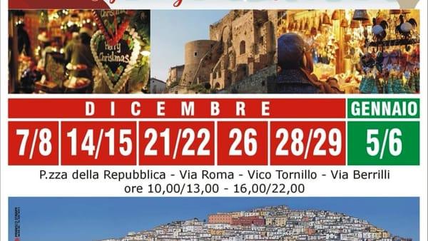 Nelle grotte del centro storico di Calitri la magia dei mercatini di Natale