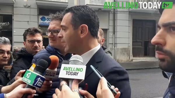 """Emergenza maltempo ad Avellino, Festa: """"Paghiamo problema strutturale"""""""