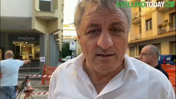 """Si apre una voragine nei pressi delle Poste Centrali, Genovese: """"Abbiamo chiuso la strada"""""""