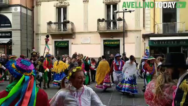 Carnevale Avellino 2020, il video della sfilata