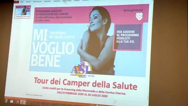 Prevenzione tumore al seno: torna il Camper della Salute con screening gratuiti