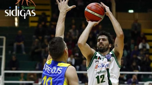 Battuta d'arresto per la Sidigas nella Basketball Champions League