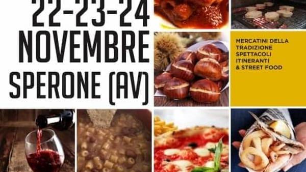 Sapori d'autunno a Sperone: mercatini, street food e spettacoli