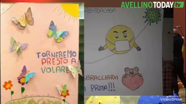 """Scuola di Via Colombo, il messaggio di speranza degli alunni sulle note di """"Nessun dorma"""""""