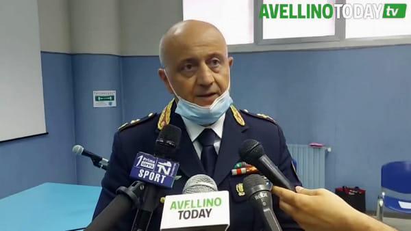 """Polizia Stradale di Avellino, il vice questore Alfano ai saluti: """"Resterò legato a questa terra"""""""