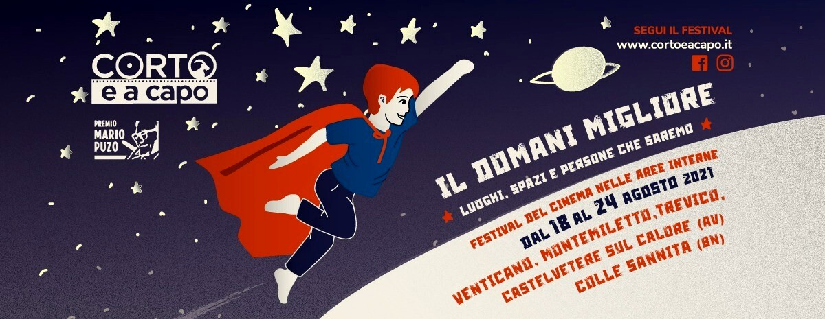 """Corto e a capo"""", la VII edizione del festival del cinema nelle aree interne  Eventi a Avellino"""